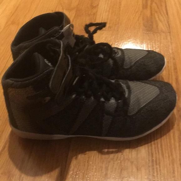 Nfinity Black High Top Cheer Shoe
